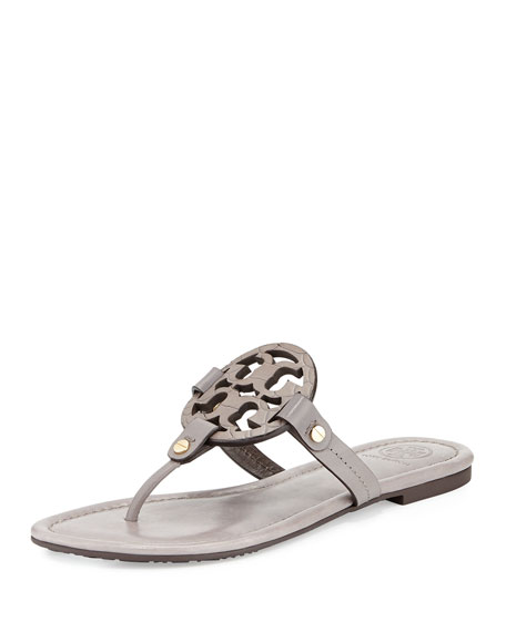 1916218b71a Tory Burch Miller Logo Flat Sandal
