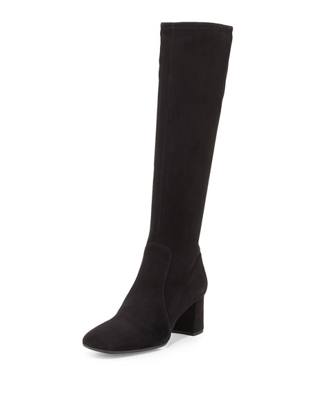 Prada Textured Knee-High Boots 2014 cheap online AdGA3WG