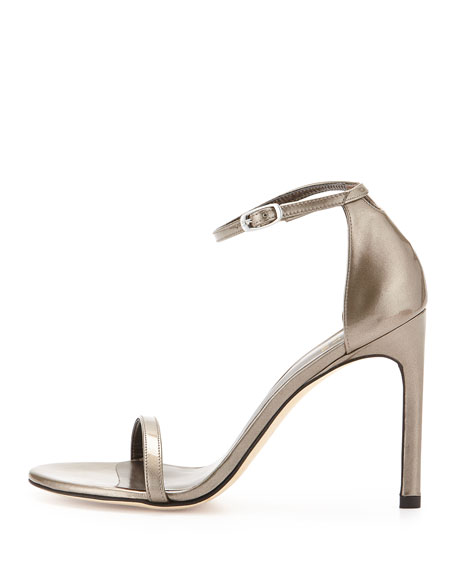 Nudistsong Patent Leather Sandal, Oxide