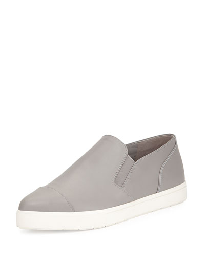 Paeyre Leather Sneaker, Truffle