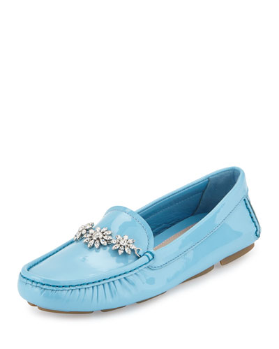 Crystal Patent Loafer, Celeste