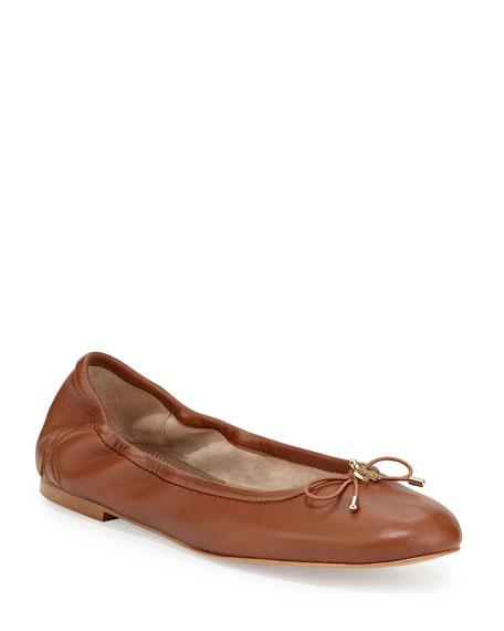 Sam Edelman Felicia Classic Ballerina Flat, Saddle