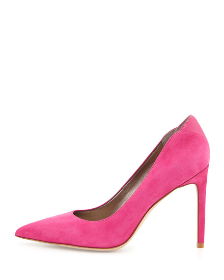 Dea Pointed-Toe Pump, Pink