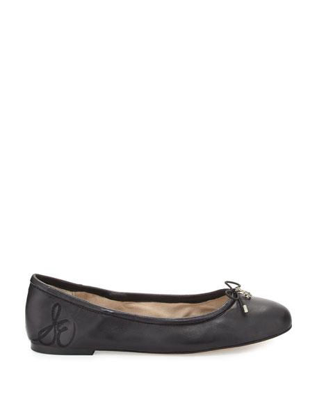 Felicia Classic Ballet Flats, Black