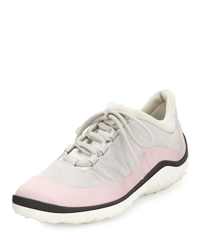 Colorblock Scuba Sneaker, Lily of the Valley (Mughetto)