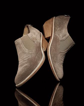 Chunky Heel Boots