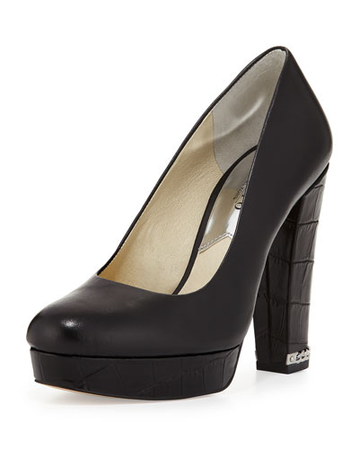 Sabrina Jet Set 6 Platform Pump, Black