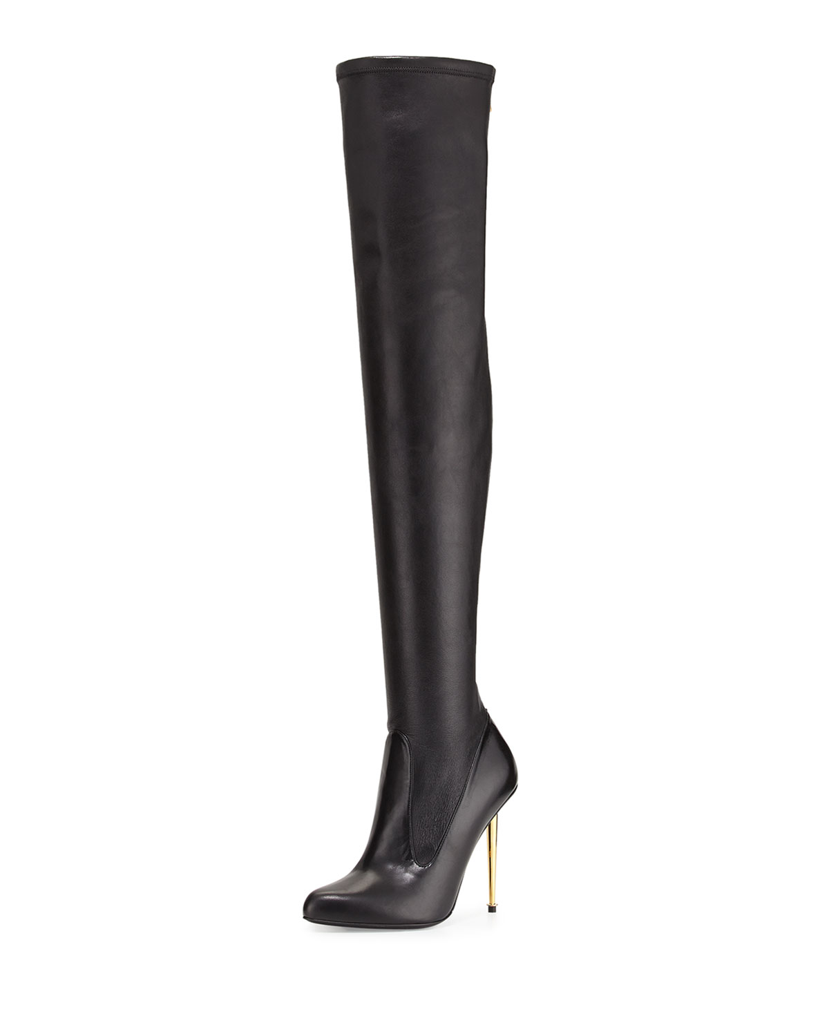bfc3d408a6 Over-the-Knee Napa Stretch Boot, Black