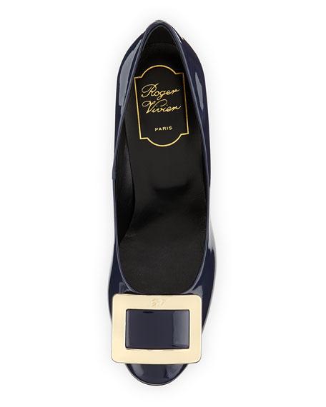 Belle de Nuit Patent Pump, Navy