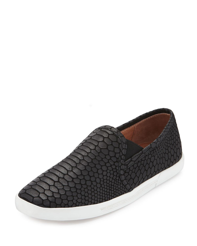 Joie Kidmore Embossed Leather Sneaker