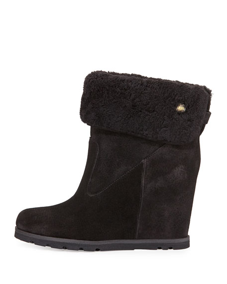 KYRA WEDGE BOOTIE