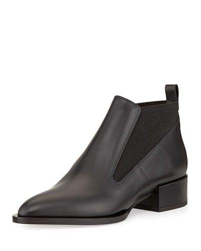 Yarrow Leather Chelsea Boot, Black