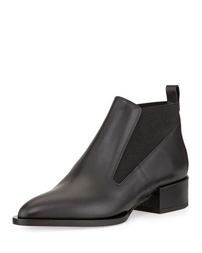 Yarrow Leather Chelsea Boot, Black