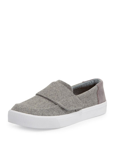 Altair Felt Slip-On Sneaker, Gray
