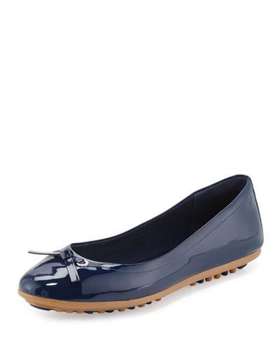 Juliet Escape Ballerina Flat, Blazer Blue