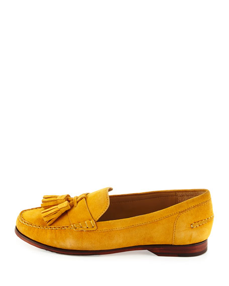 Cole Haan Pinch GRAND O/S Tassel Loafer, Autumn Gold