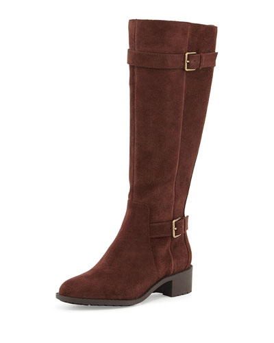 Putnam Weather-Resistant Tall Boot, Chestnut