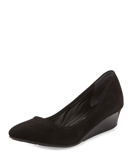 Tali Luxe Wedge Pump, Black