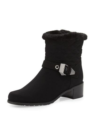 18d8baa4c5a5 Stuart Weitzman Furgorby Acquatex Faux-Fur Ankle Boot