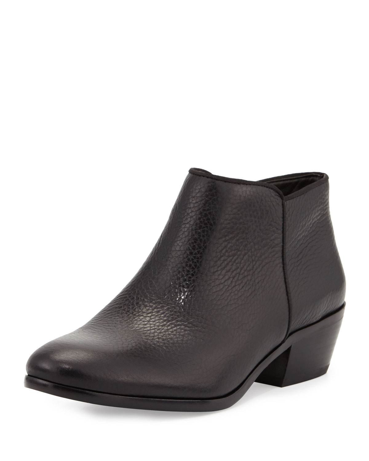 8874ba3eb908 Sam Edelman Petty Leather Ankle Bootie