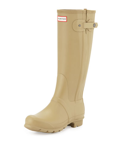 Original Slim Textured Welly Boot, Sage