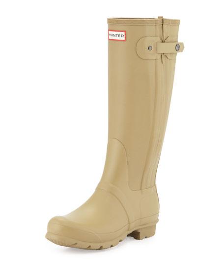 Original Slim Textured Welly Boot, Sage