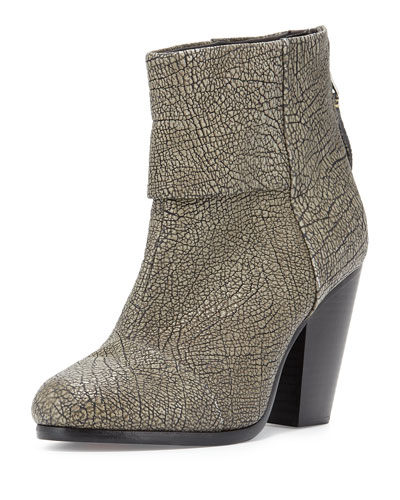 Classic Newbury Leather Bootie, Iron
