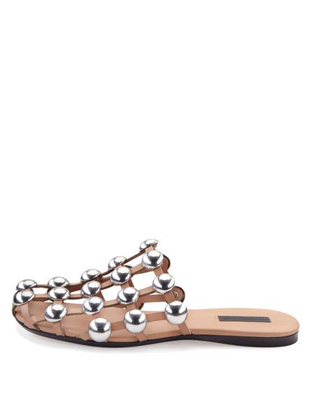 Sale Footlocker Alexander Wang Leather Amelia Sandals in Free Shipping Best Store To Get rDgxP7hzbB