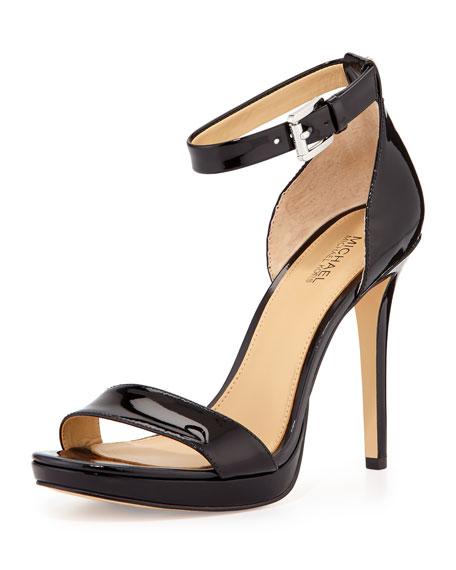 Sienna Patent d'Orsay Sandal, Black
