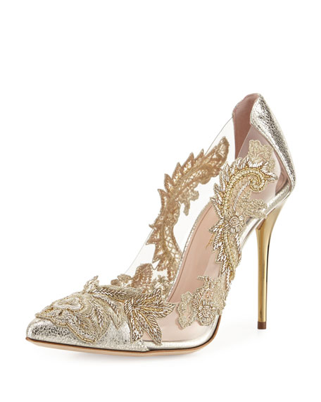 oscar de la renta wedding shoes oscar de la renta aylissa embellished smoke 6314