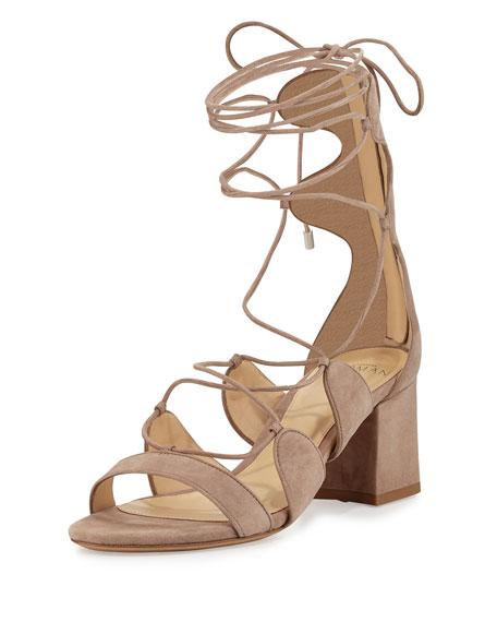Alexandre Birman Meghan 60mm Gladiator Sandal, Cameo