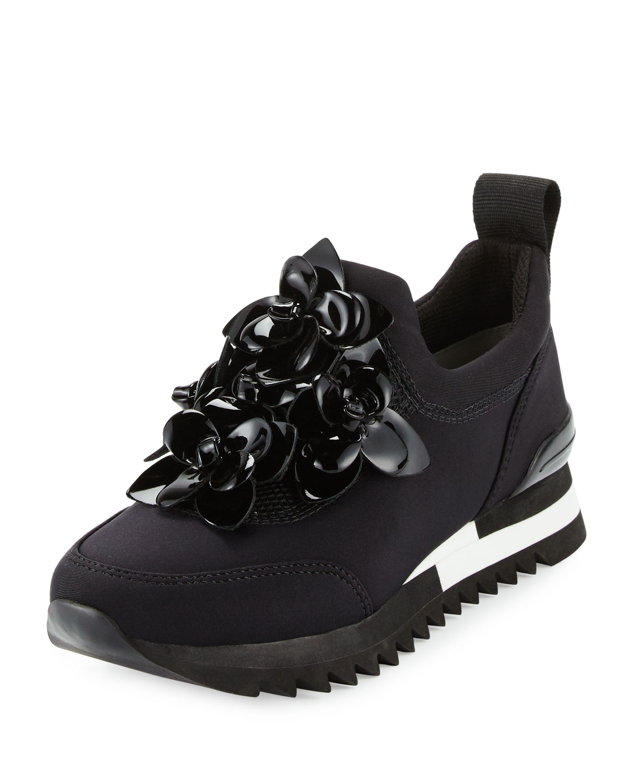 36a6bb1159b2 Tory Burch Blossom Neoprene Sneaker