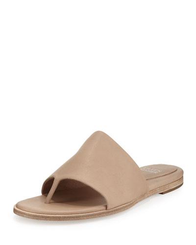Edge Leather Thong Sandal, Sand