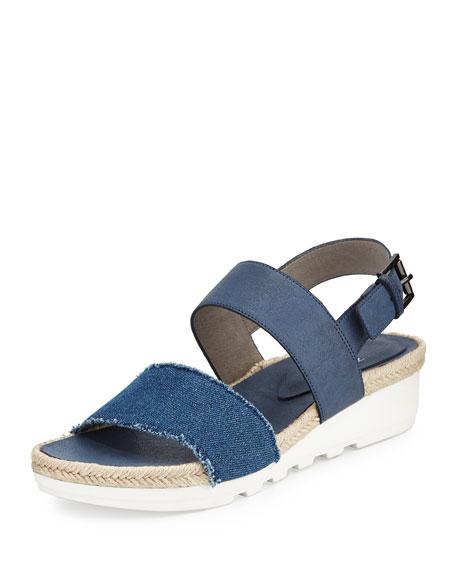 Eileen Fisher Sally 2 Slingback Espadrille Sneaker, Denim