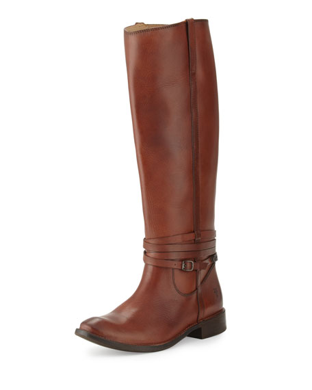 Frye Shirley Riding Plate Boot, Redwood