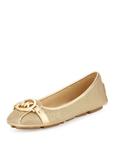 Fulton Canvas Moccasin, Gold