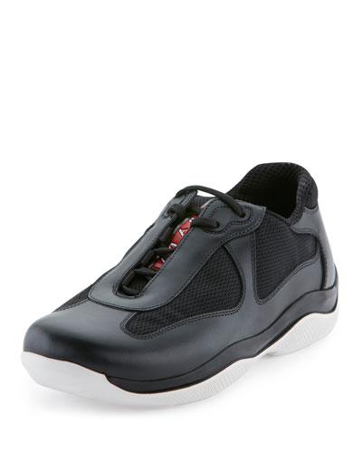 America's Cup Sneaker, Nero/Bianco