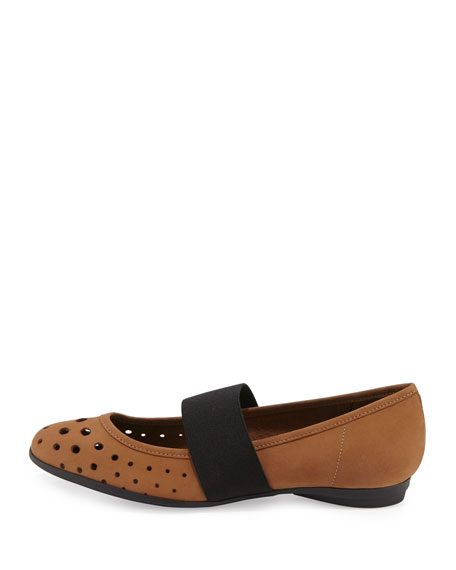 Abia Perforated Ballet Flats, Viso