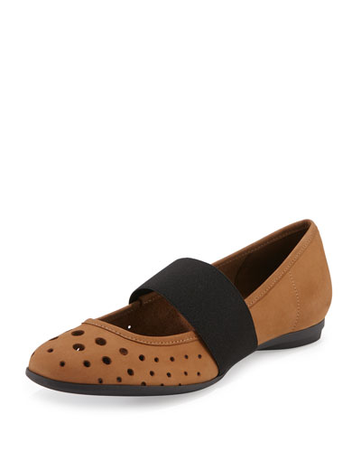 Abia Perforated Ballerina Flat, Viso