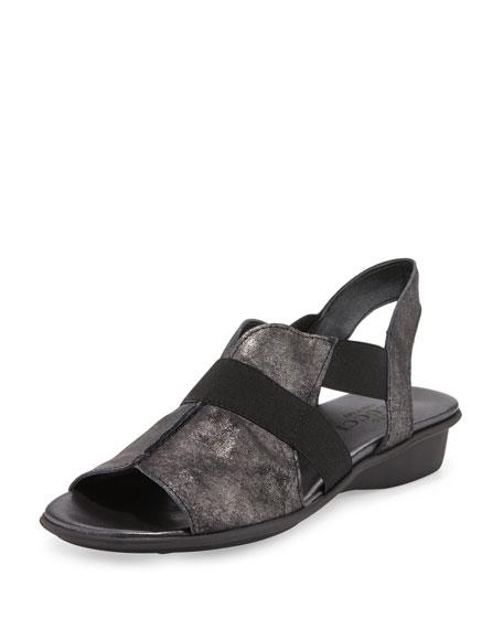 Sesto Meucci Estelle Strappy Stretch Sandal, Black