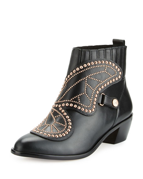 Sophia Webster Karina Butterfly Bootie, Black