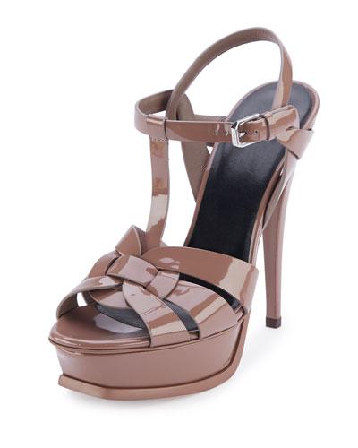 ysl yves saint laurent tribute sandal