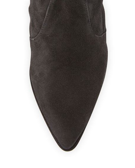 stuart weitzman thighland suede the knee boot black