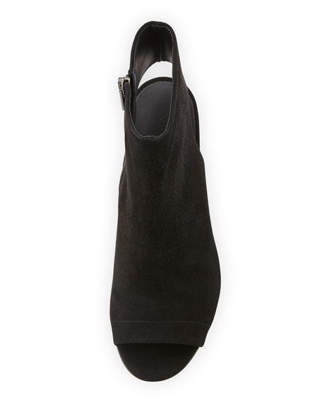 Fenmore Peep-Toe Bootie, Black