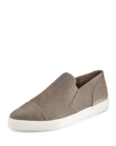 Philipa Pointed-Toe Sneaker, Woodsmoke