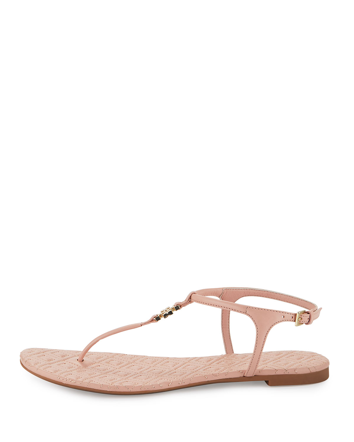 13195311f58ec Tory Burch Marion Quilted T-Strap Sandal