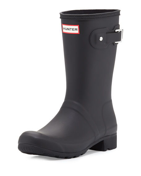 Hunter Boot Original Tour Matte Short Rain Boot,