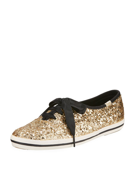 5df5ad22038 Keds Kate Spade New York Champion Glitter Shoes In Light Blue Matte Glitter  - 27BB