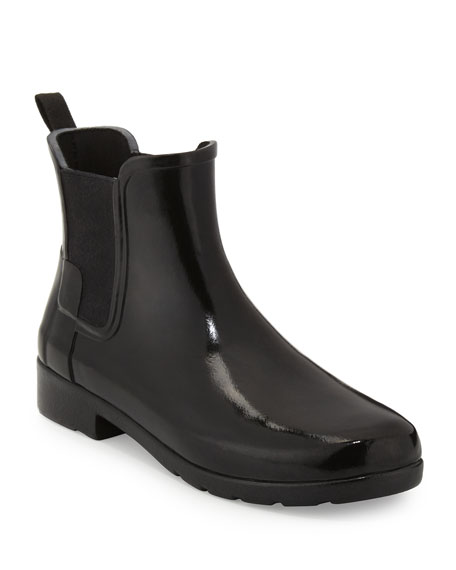 Hunter Boot Original Refined Gloss Chelsea Rain Boot,