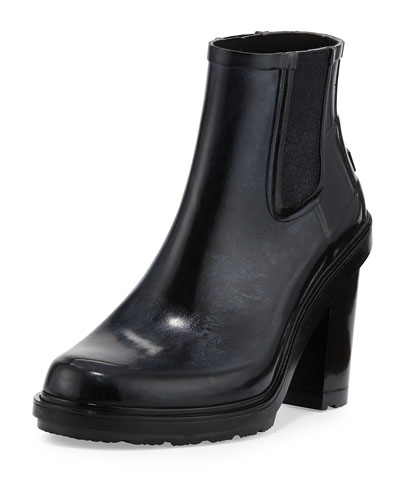 Original Refined Rubber Chelsea Boot, Black